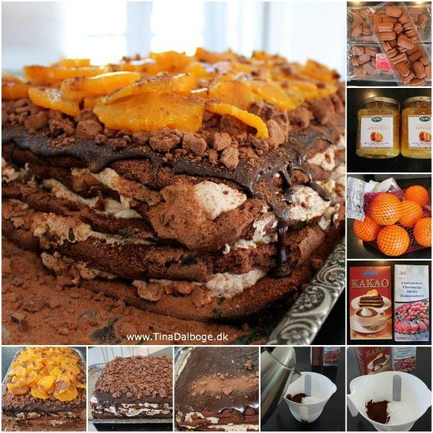 Kage der passer perfekt til buffet og fester