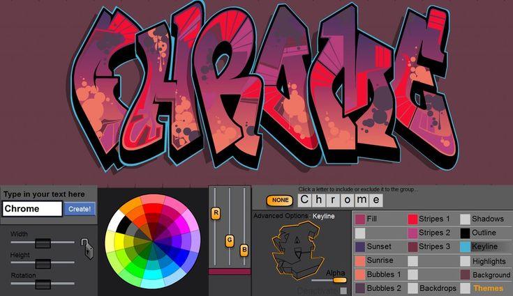 Image of The Graffiti Creator - Chrome5