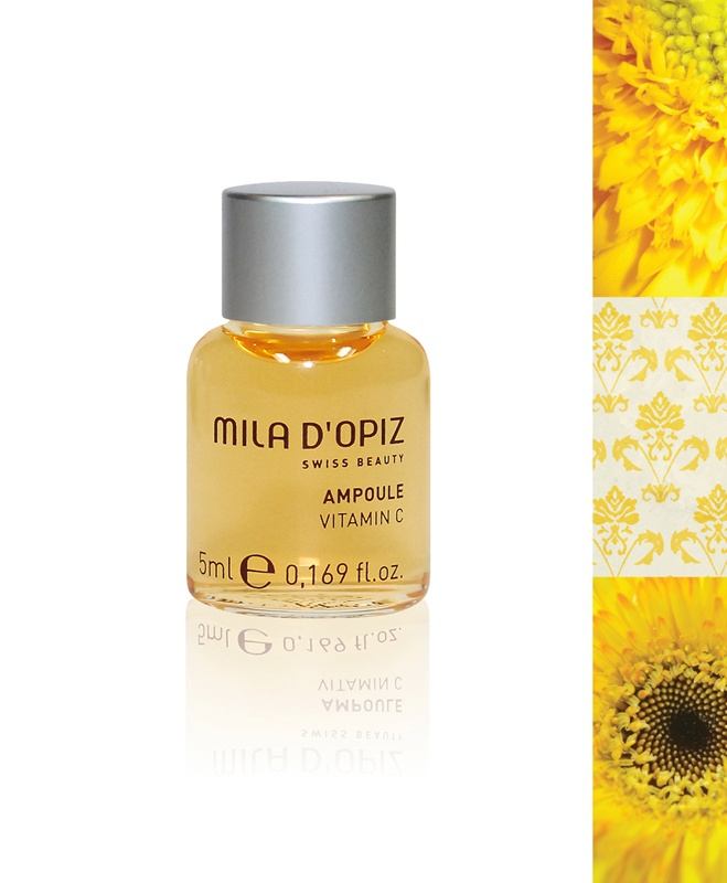 Mila d'Opiz Australia - Concentrate Collection Vitamin C. Contains high concentration of Vitamin C. Activates skin regeneration, intensifies skin protection & has intensive moisturising effect.