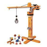 Plan Toys Crane Set, Multicolor