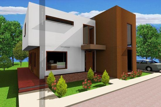 Casa de lemn Cub Cube wooden house Case in legno Cubo www.transval.ro