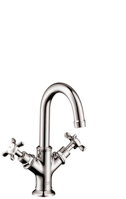 Alternativ: 2-Griff-Waschtischarmatur 160 mit Zugstangen-Ablaufgarnitur für Handwaschbecken