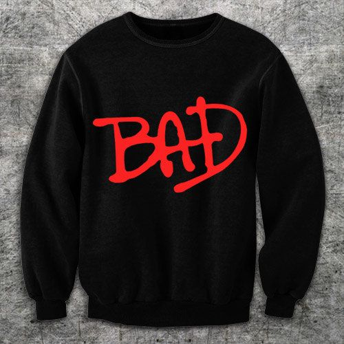 Want.    BAD tribute Michael Jackson sweatshirt $32.94 Esty