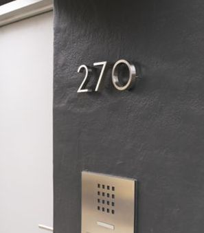 Neutra House Numbers, Design Within Reach, $48