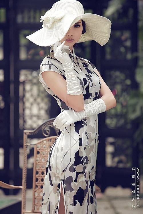 qipao, cheongsam, Chinese dress