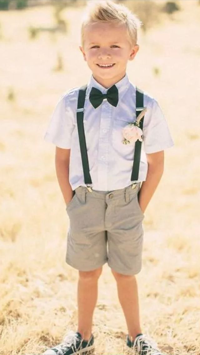 25+ best ideas about Ring Bearer Outfit on Pinterest | Pageboy outfits Boy wedding ushers and ...