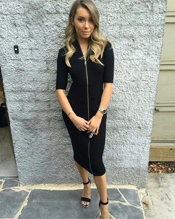 Alessia dress in black