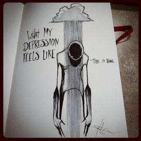 """""""Wie sich meine Depression anfühlt"""" – etwas, über das ich nicht viel zu reden versuche, weil"""