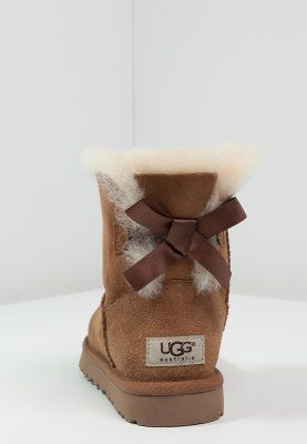UGG Australia MINI BAILEY BOW - Bottines - chestnut - ZALANDO.FR