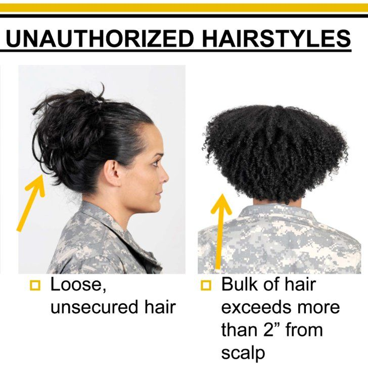 Pin for Later: Update: Pentagon Reviewing New Army Regulations For Hair Discrimination
