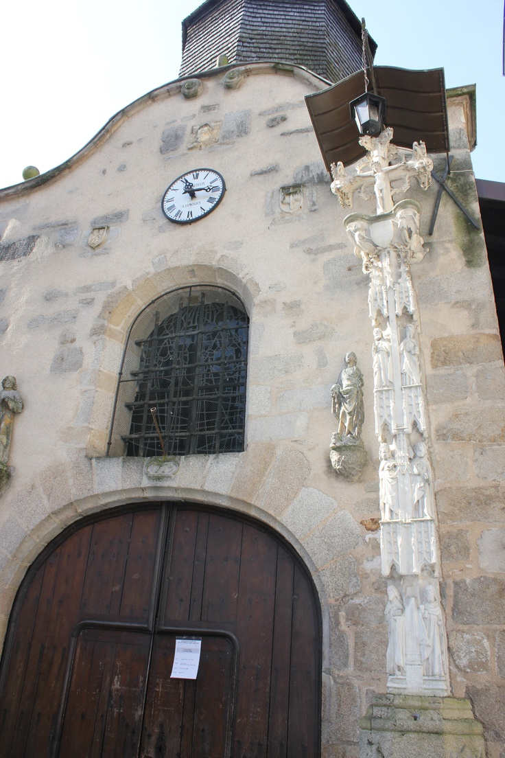 Medieval Church, Limoges, France