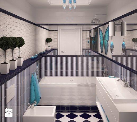 Średnia łazienka, styl klasyczny - zdjęcie od Spede Studio