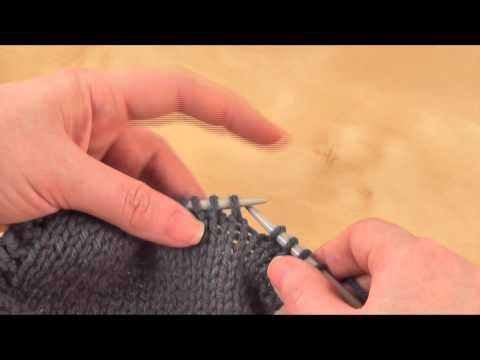 How to: Slip. Slip. Knit. (ssk) - YouTube