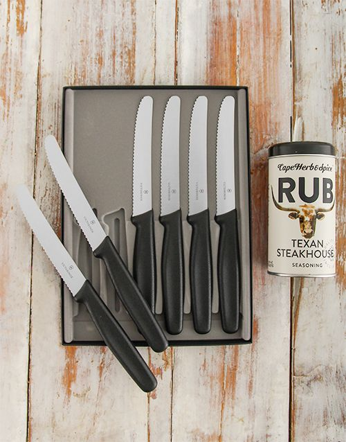 Buy Victorinox Steak Knife Set Online - NetGifts