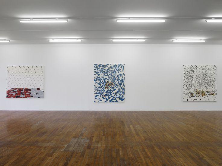 Farah Atassi, vue de l'exposition présentée du 11 octobre 2014 au 4 janvier 2015 au Grand Café – centre d'art contemporain de Saint-Nazaire. Grande salle, étage. Photographie Marc Domage