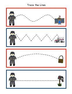 Begeleide of zelfstandige activiteit - Motoriek de post volg de lijn