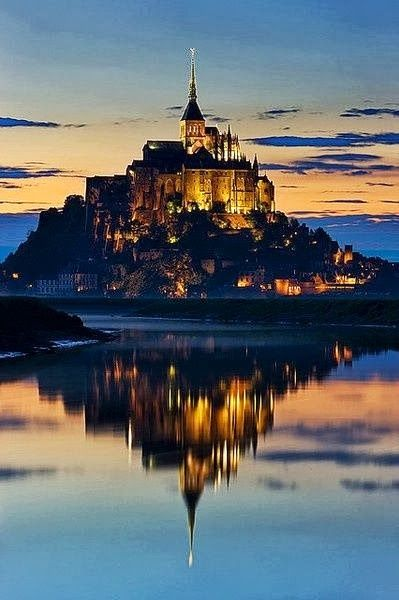 The most beautiful pictures of Mont Saint Michel, France (20 photos) ~ Travel And See The World