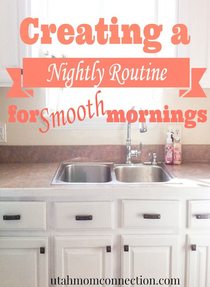 Mornings can be hectic and leave a mom feeling stressed, frazzled, and late. But it doesn't have to be that way! A little prep the night before can make a world of difference!