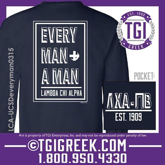 TGI Greek - Lambda Chi Alpha - Fraternity PR - Comfort Colors - Greek T-shirts  #tgigreek #lambdachialpha #greekshirts