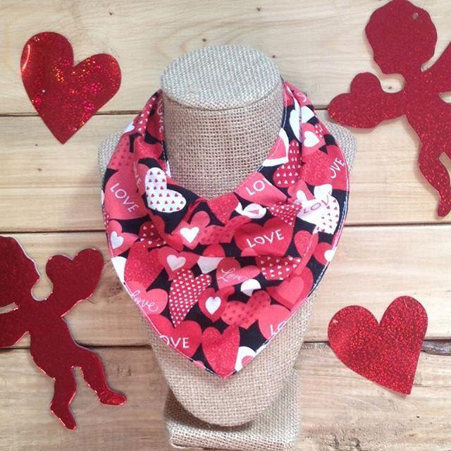 Make sure your Little is Valentine's Day ready  #etsyshop #shopetsy #shopsmall #shophandmade #handmade #shoplocal #bandanabib #bibdana #scarfbib #valentine #valentinesday #babiesfirst #ootd #canada #canadianmade #winterbaby #canadianbaby #babiesfirstvalentinesday #bemine #babygirl #babyboy #babyfashion #babystyle #babyboutique #afterthestork