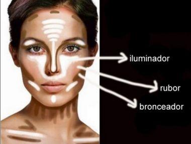 maquillaje para cara cuadrada tips