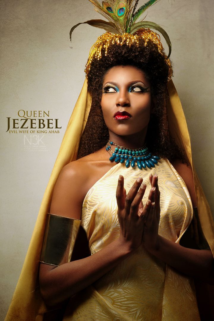 "QUEEN JEZEBEL.  ///  ""Icons of the Bible"" by photographer James C. Lewis of Noire3000 / N3K Photo Studios"