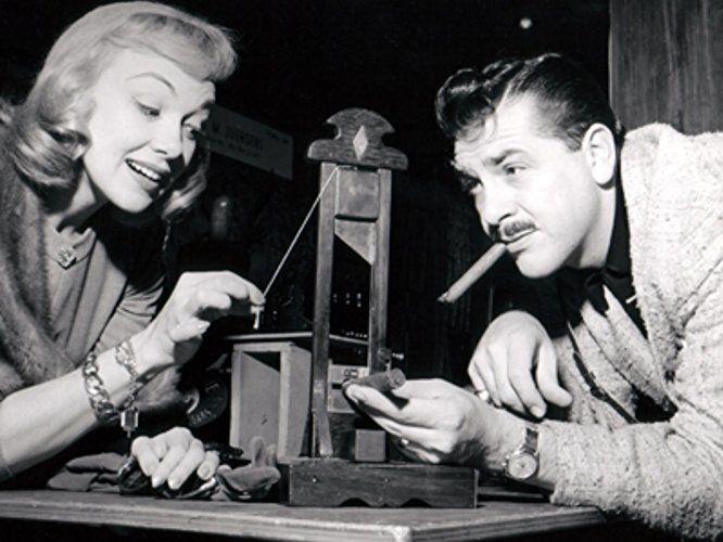 Edie Adams and Ernie Kovacs in Tonight! (1953)