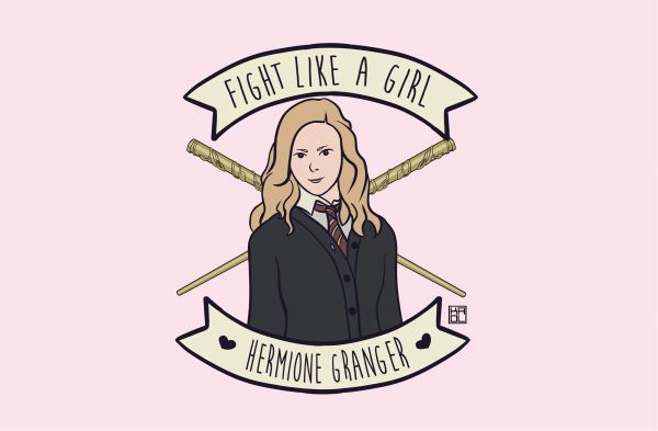 "If you wouldn't walk up to hermoine and say ""you will never fight as well as Harry, because your a girl"" or walk up to Leia and say ""you can't save the day, your a girl"" DONT SAY YOU FIGHT LIKE A GIRL"