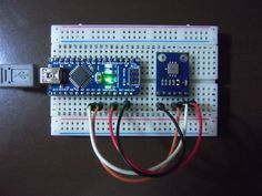 Sensors: Pressure and temperature measurement with the BMP085 (GY-65 breakout board)
