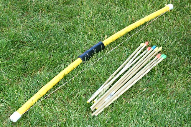 Craft, Interrupted: Kid Friendly PVC Bow and Arrow