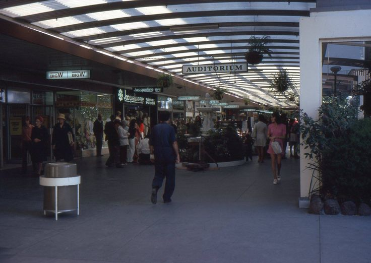 Chadstone Shopping centre 1968.