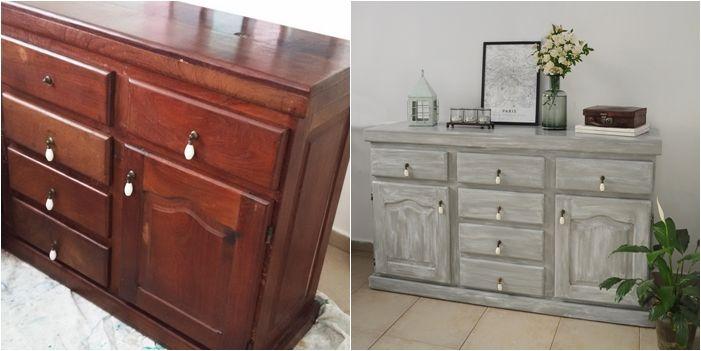 Está mal que yo lo diga, lo sé, pero ya llevo pintados muchos muebles a pedido, y creo esta es de mis transformaciones preferidas... sobre t...