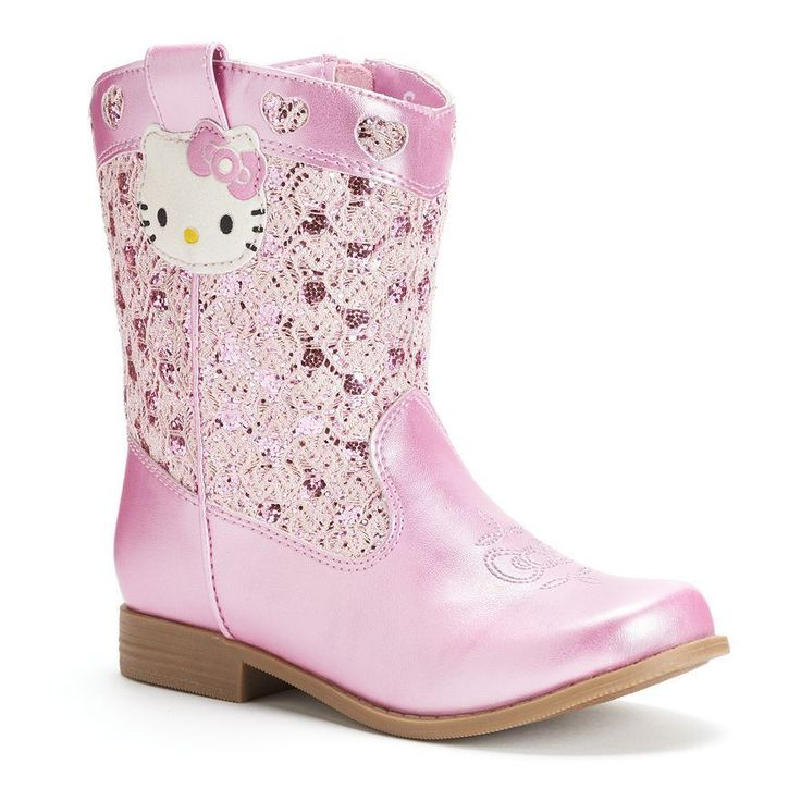Hello Kitty® Toddler Girls' Cowboy Boots -Size 11 - New in Box #HelloKitty #CowboyBoots