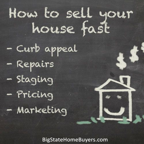 If you are selling your house the conventional way, you probably want to sell your house quickly! We have some tips from experience on how to sell a house fast.
