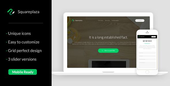 #Squareplaza#-#Multipurpose#Muse#Template#-#Corporate#Muse#Templates#