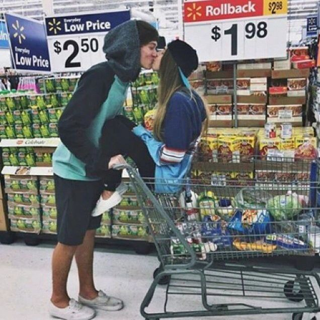 Playful at the Grocery Store