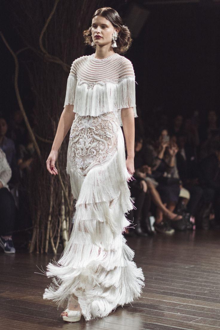 Bohemian Wedding Gowns / NY Bridal Week Fall 2017