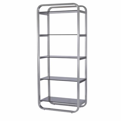 James 5-Shelf Bookcase