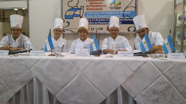 Pastry jury FITHEP 2013