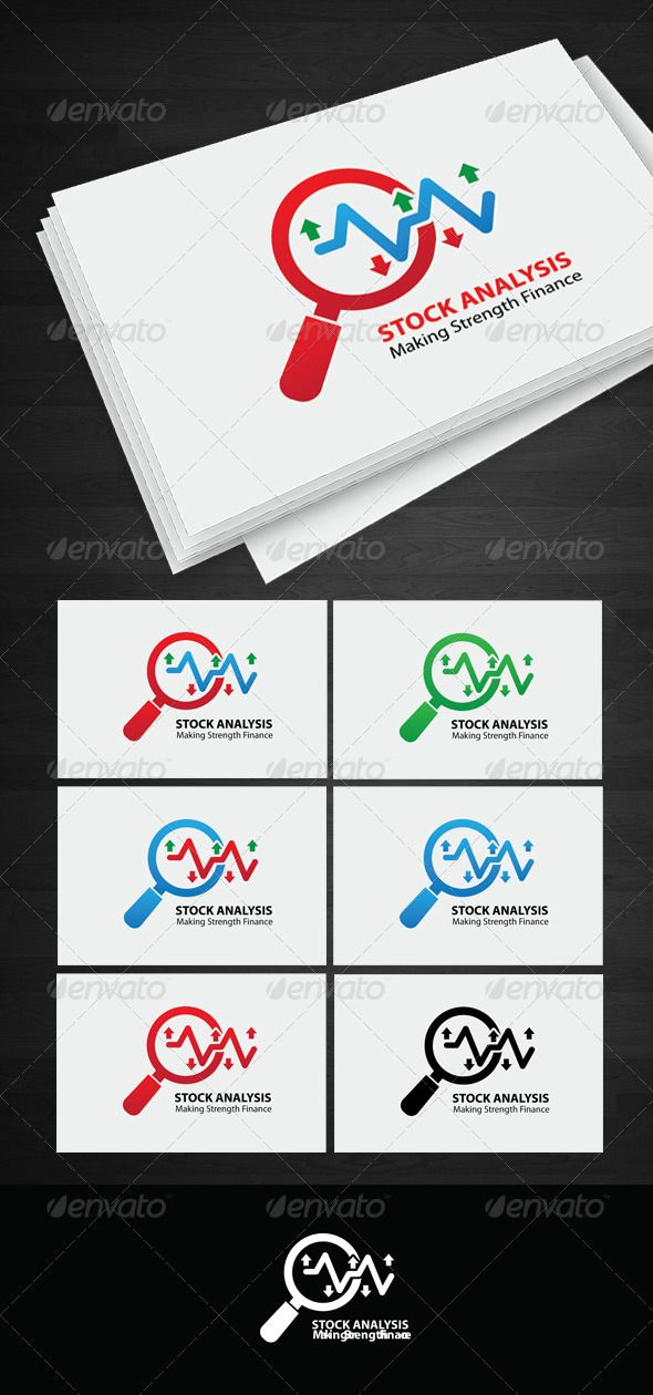Stock Analysis logo by mamanamsai Stock Analysis logo Fully editable vector files. Files include : 7 Version : 1 . Red Version 2 . Blue Version 3 . Black Ver