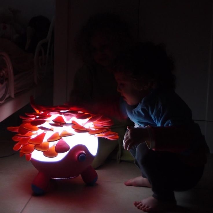 A petting lamp for children