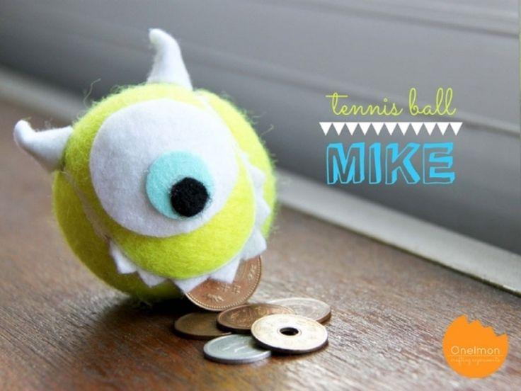 7 #tolle DIY-Ideen recyclebar Tennisbälle...