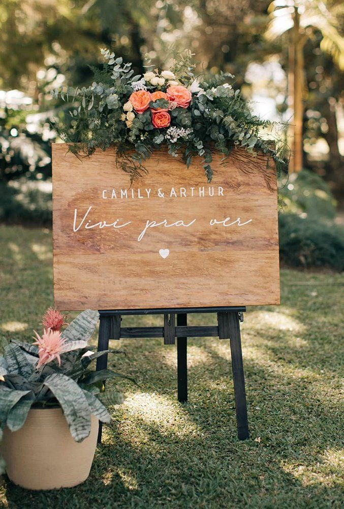 Clever Funny Wedding Signs For Your Reception Wedding Forward In 2020 Rustic Wedding Signs Wedding Signs Wedding Humor