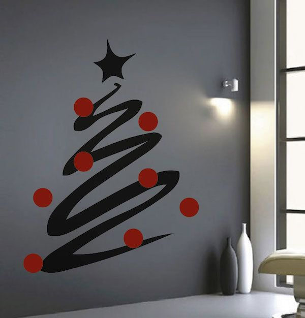 Best Holiday Wall Decals Images On Pinterest Wall Design - Christmas wall decals removable