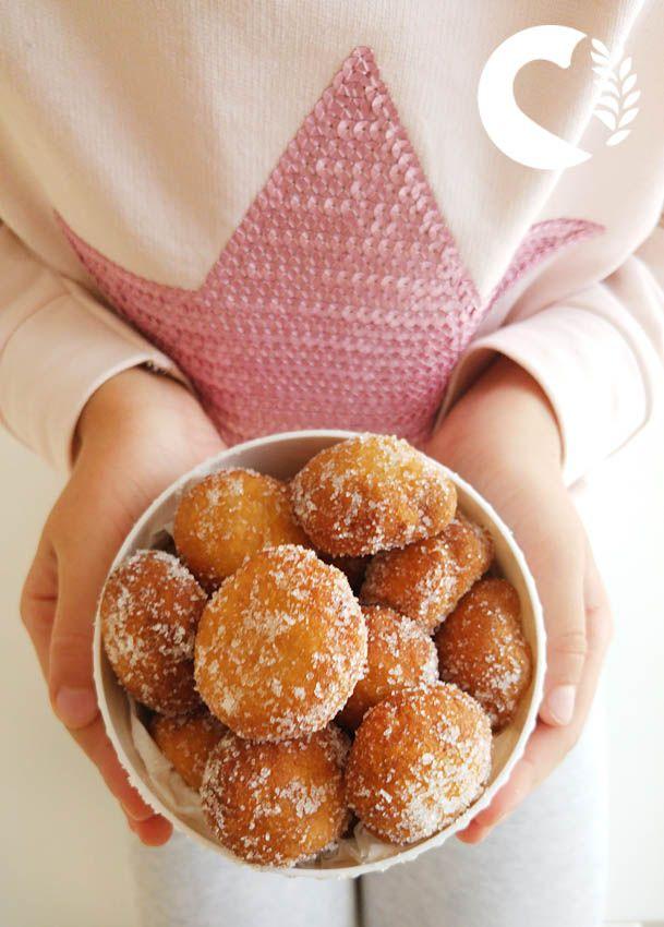 paneamoreceliachia: Frittelle o Crispelle di San Martino Senza Glutine