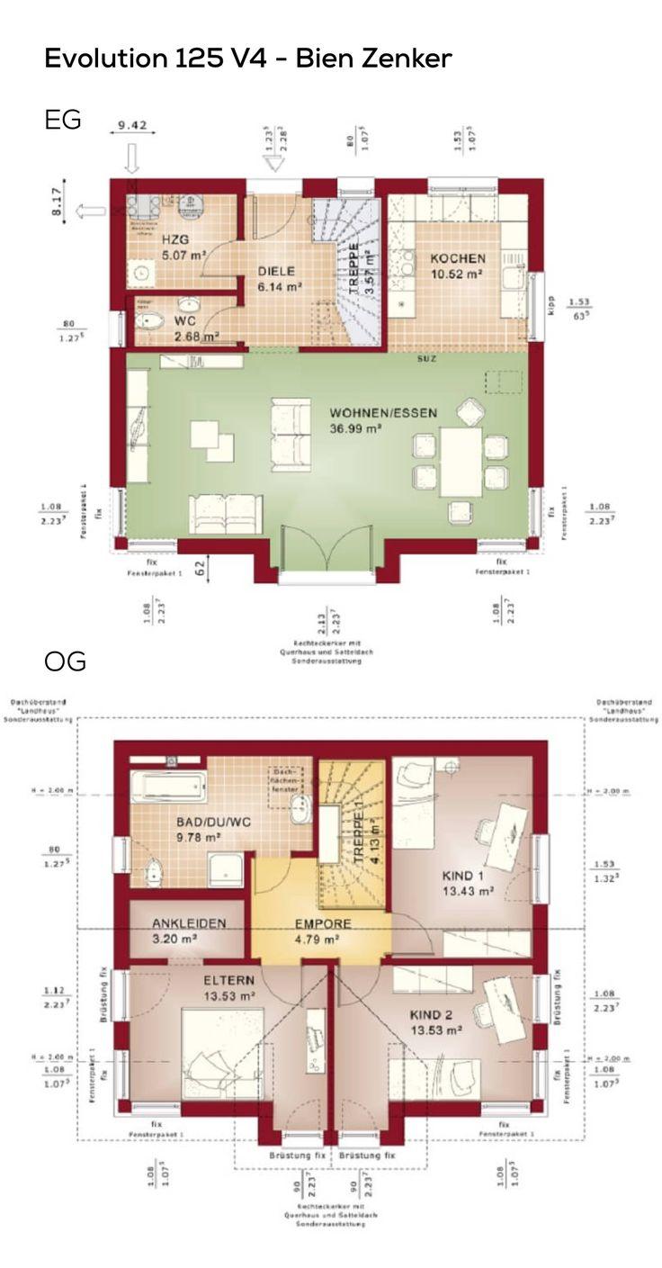 207 besten grundriss einfamilienhaus bilder auf pinterest