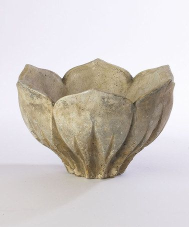 Attach to a fence for a feeder bowl. Love this Lotus Blossom Bowl by Napa Home & Garden on #zulily! #zulilyfinds