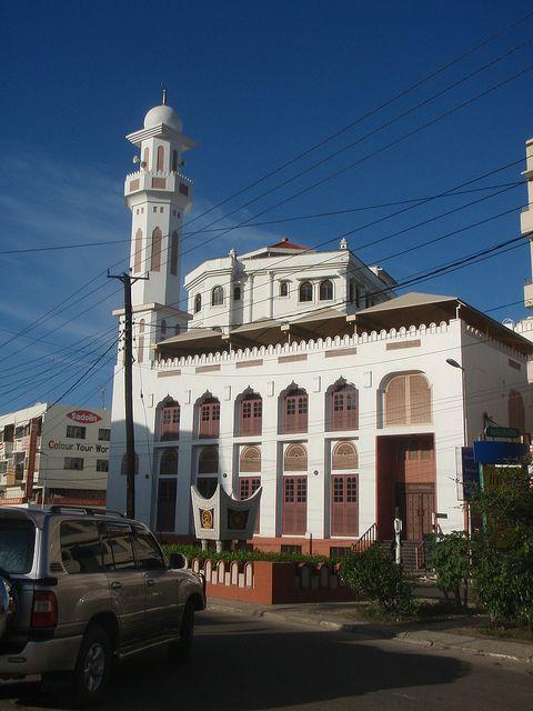 Beautiful Mosque in Mombasa, Kenya