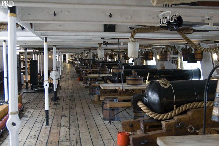 HMS Warrior Gun Deck