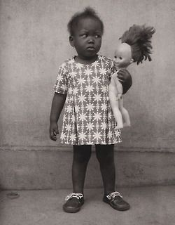 "lapetitecole:    Edouard Méhomé : A Fon child (Studio photo Vedette, Porto-Novo, Benin).  From ""Life and afterlife in Benin"" edited by Alex Van Gelder, Phaidon, 2005."